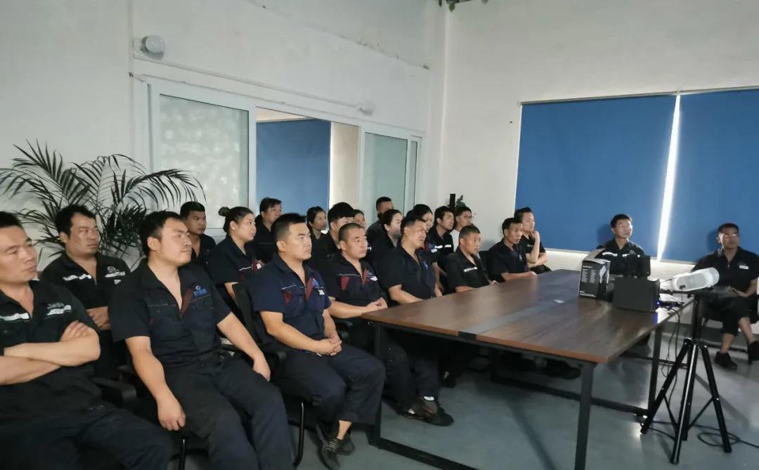 全员参与 不断提升 ——钎具项目单位进行6S管理培训
