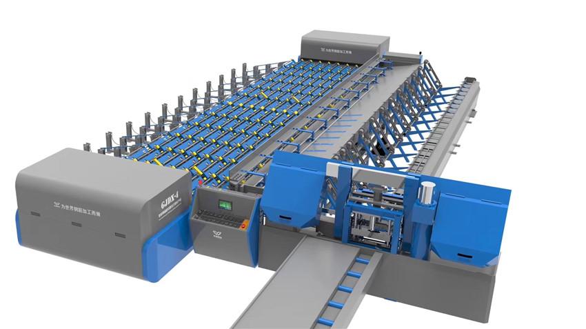 套丝锯切打磨生产线用途特点和技术参数